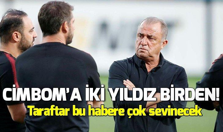 GALATASARAY'A İKİ YILDIZ BİRDEN!