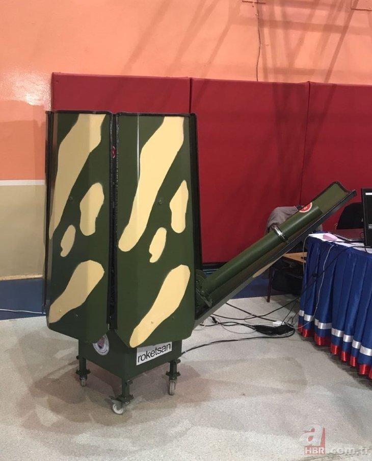 ROKETSAN'a 3 farklı mühimmatlı roketatar