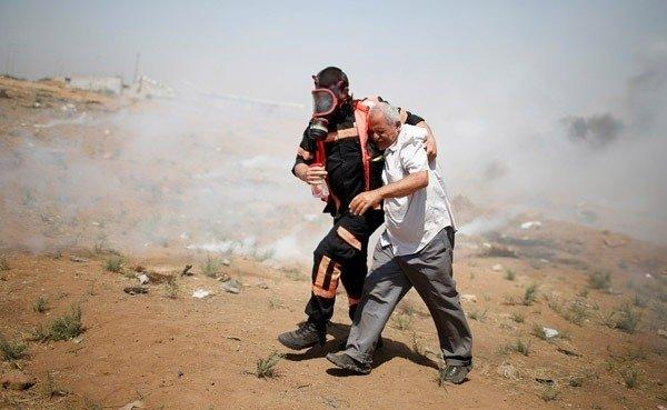 İsrail-Gazze sınırında feci görüntüler!