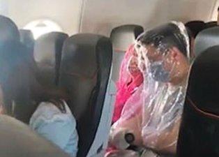 Uçakta yolcular öyle bir şey yaptı ki! Hostesleri şoke eden anlar