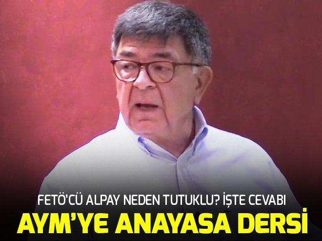 AYM'YE ANAYASA DERSİ!