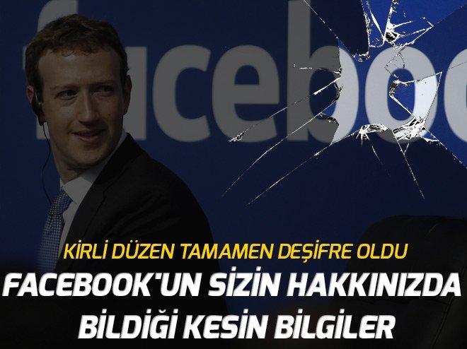 Facebook'un sizin hakkınızda bildiği kesin bilgiler