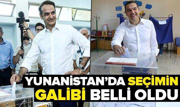 Yunanistanda Kiriakos Miçotakis seçimleri kazandı