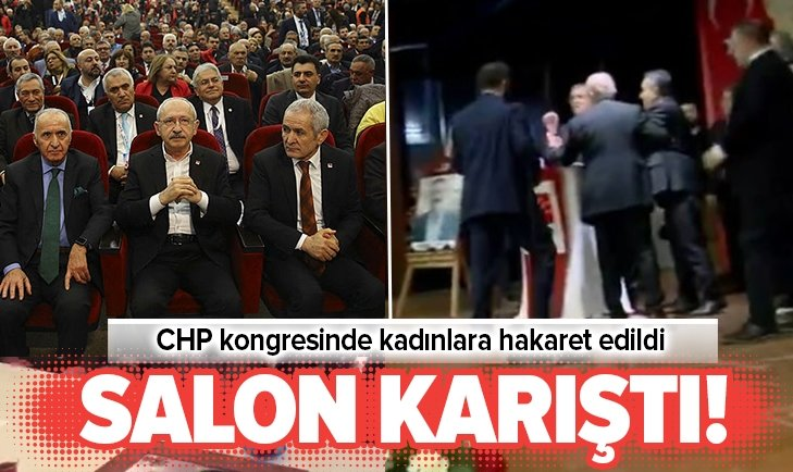 CHP Ankara İl Kongresinde rezalet!
