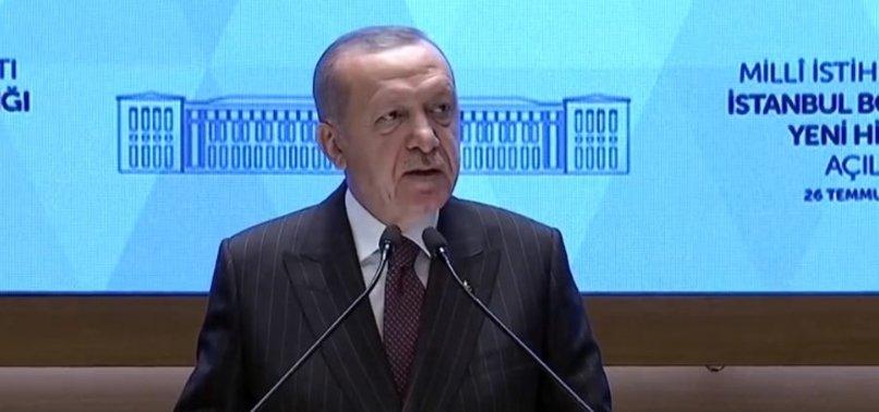 Son dakika haberi | MİT'e İstanbul'da yeni hizmet binası! Başkan Erdoğan'dan flaş mesajlar