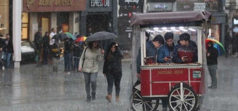 METEOROLOJİ'DEN İSTANBUL İÇİN SEL UYARISI!