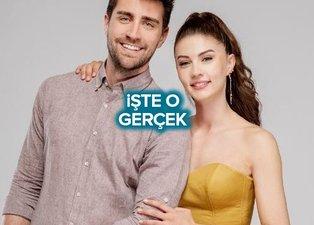 Afili Aşk dizisi yıldızıları Çağlar Ertuğrul ve Burcu Özberk arasındaki gerçek