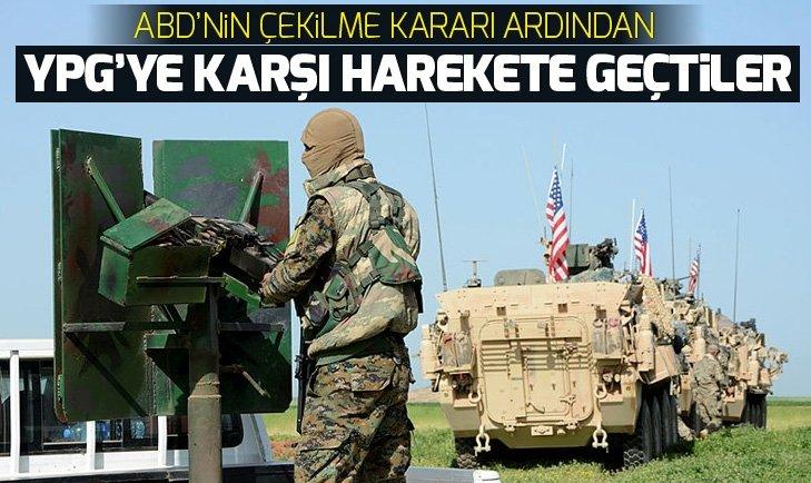 Arap aşiretleri YPG/PKK'ya karşı harekete geçti