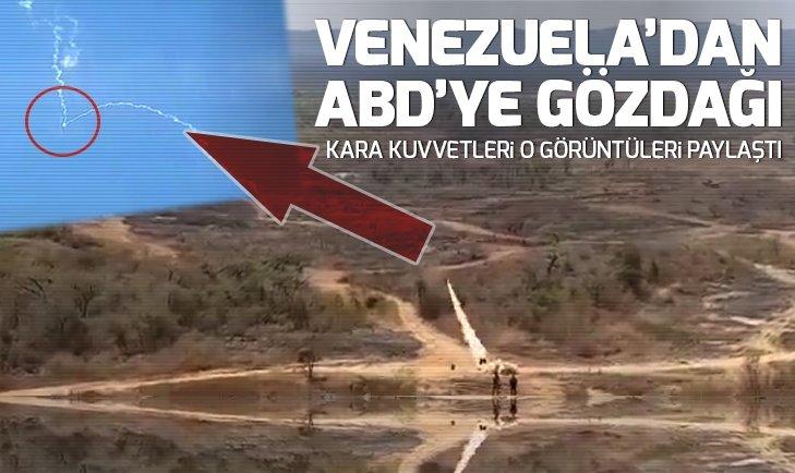 Venezuela'dan ABD'ye gözdağı!
