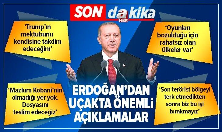 Başkan Erdoğan: Mektubu Trump'a takdim edeceğim