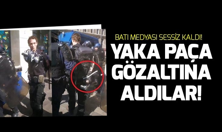 FRANSA'DA ÇOK SAYIDA GAZETECİ GÖZALTINA ALINDI!