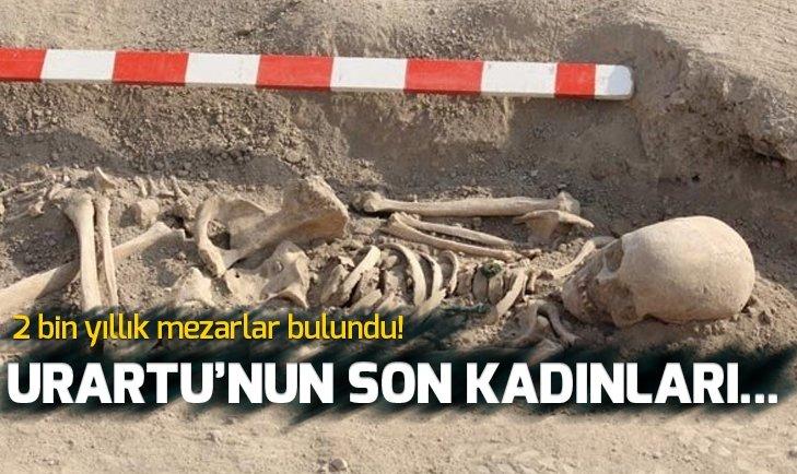 URARTU'NUN SON KADINLARINA AİT MEZAR BULUNDU