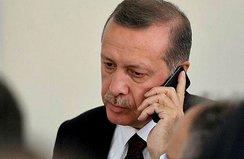 Cumhurbaşkanı Erdoğan Güneş'i aradı