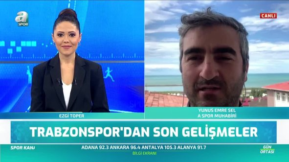 Trabzonspor'un yeni transferini canlı yayında açıkladı
