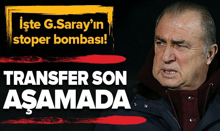 GALATASARAY'DA SON HEDEF STOPER! TRANSFER AN MESELESİ