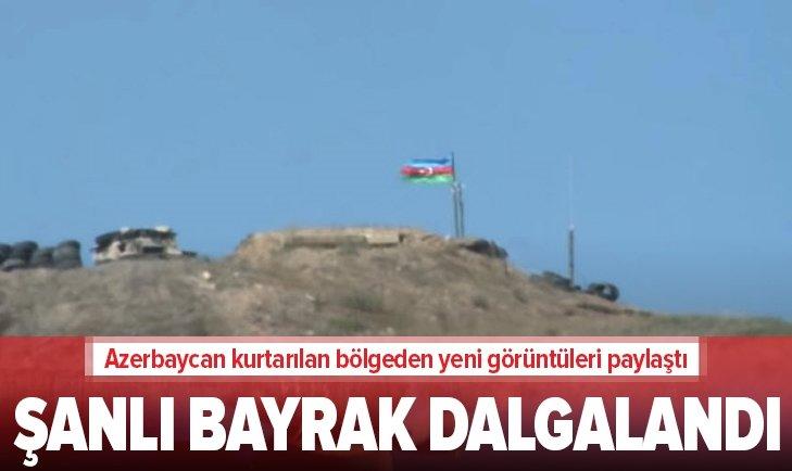 Kurtarılan Azerbaycan topraklarından yeni görüntüler