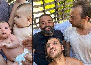 Bülent Şakrak'ın Ali Atay ve Erkan Kolçak Köstendil ile 'Babalar ve oğulları' paylaşımına beğeni yağdı