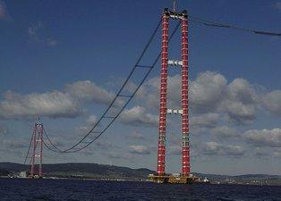 Çanakkale Köprüsü son durum | Çanakkale Köprüsü ne zaman bitecek | Türkiye tarih verdi! Dünyada bir ilk olacak