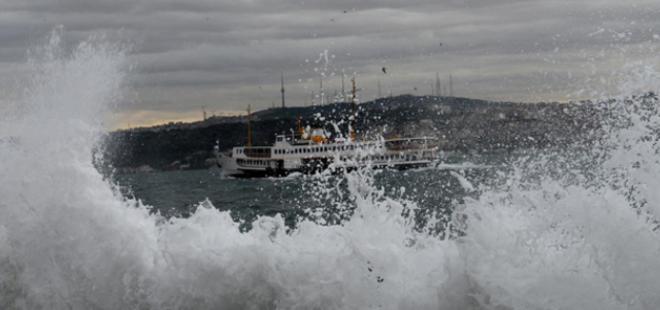 METEOROLOJİ'DEN İSTANBUL'A UYARI