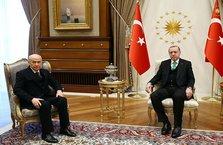 """Cumhurbaşkanı ile Bahçeli arasında """"ittifak"""" görüşmesi"""