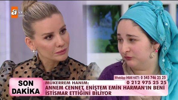 Esra Erol'da zihinsel engelli Mükerrem'in itirafları Türkiye'yi şoke etti! Kız kardeşimin eşi Emin...