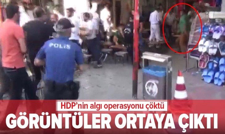 HDP'NİN OYUNU BOZULDU! GÖRÜNTÜLER ORTAYA ÇIKTI