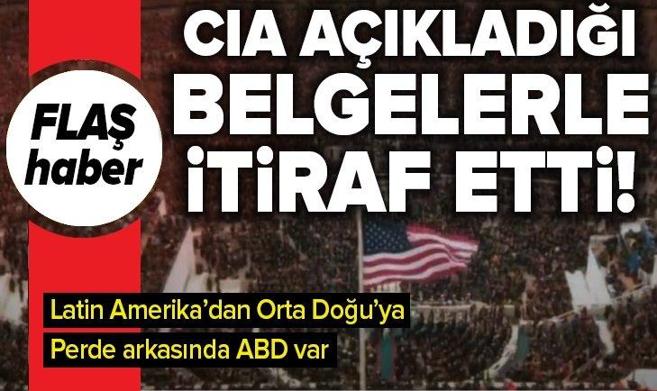 ABD'NİN LATİN AMERİKA'DAN ORTA DOĞU'YA DARBELERDEKİ ROLÜ!