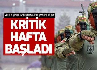 Son dakika yeni askerlik sisteminde kritik hafta! Yeni askerlik sistemi ne zaman çıkacak, son durum ne?