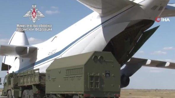 Rusya S-400'lerin son görüntülerini yayınladı