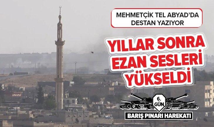TEL ABYAD'DA YILLAR SONRA YENİDEN EZAN SESLERİ