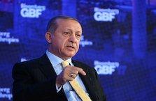 Cumhurbaşkanı Erdoğan, Bloomberg'i kabul etti