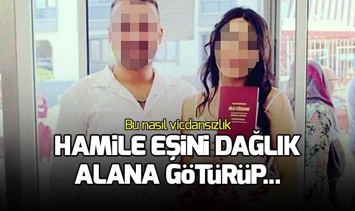 Cani koca, hamile eşini 7 yerinden bıçakladı