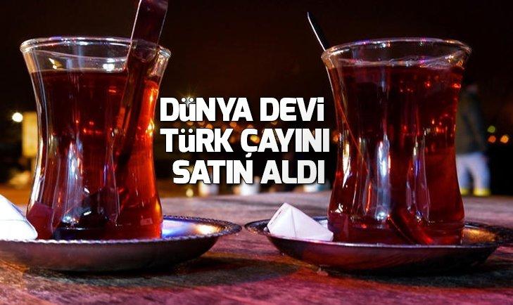 DÜNYA DEVİ JACOBS, OF ÇAY'I SATIN ALIYOR