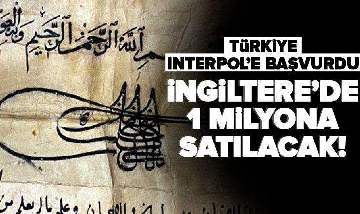 İstanbul'dan kaçırıldı! İngiltere'de 1 milyona satılacak! Türkiye Interpol'e başvurdu