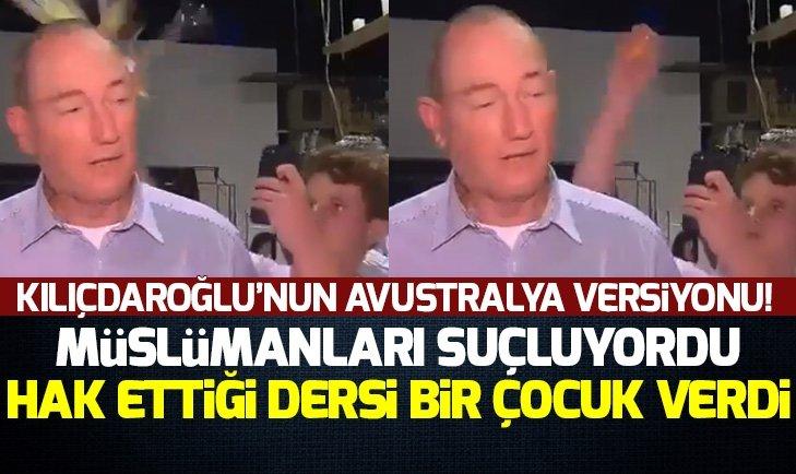 AVUSTRALYALI SENATÖR ANNİNG'E YUMURTALI PROTESTO
