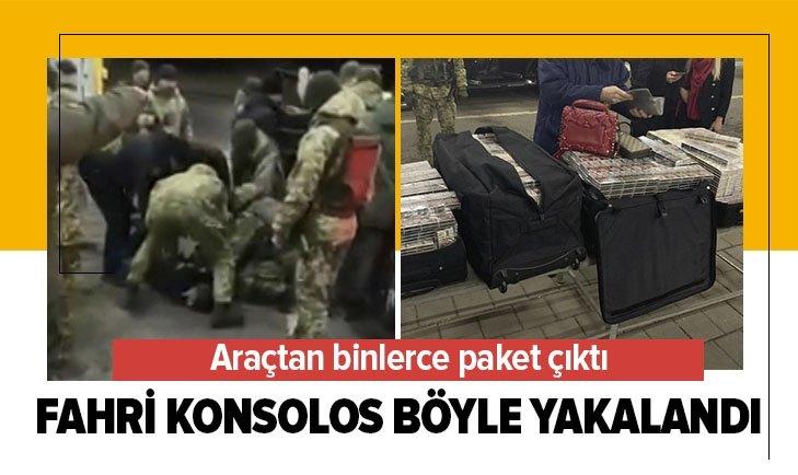 FAHRİ KONSOLOS BÖYLE YAKALANDI! ARACINDAN...