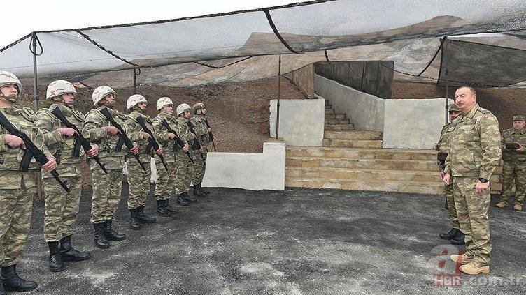 ALİYEV ONAYLADI: AZERBAYCAN ORDUSUNDAN DEV TATBİKAT
