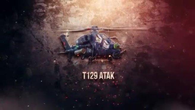 Savunma Sanayii Müsteşarlığı'ndan çarpıcı T129 ATAK videosu