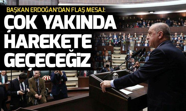 Son dakika: Başkan Erdoğan'dan Fırat'ın doğusu için yeni mesaj