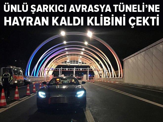 MUSTAFA CECELİ, AVRASYA TÜNELİ'NDE!