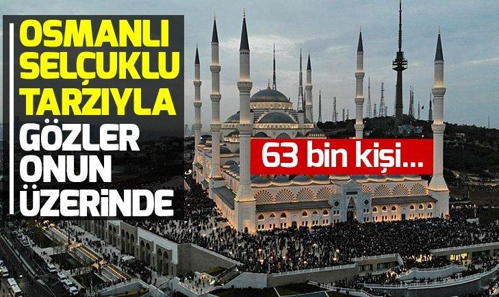 Büyük Çamlıca Camii Başkan Erdoğan'ın katılımıyla açılacak