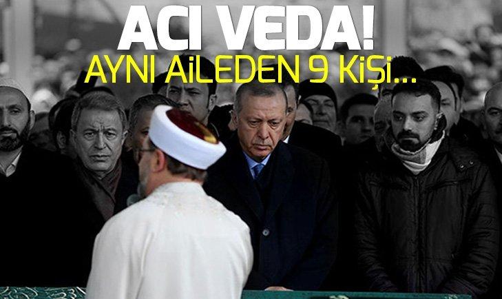KARTAL'DA ÇÖKEN BİNADA ÖLENLERE VEDA!