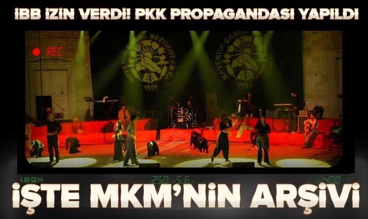 MKM'nin arşivi PKK propagandasıyla dolu