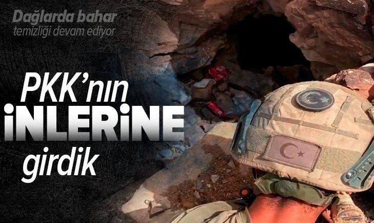 PKK'nın inlerine girdik!