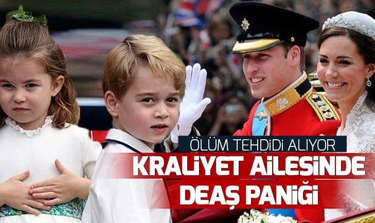 İngiliz Kraliyet Ailesi'nde DEAŞ paniği! Kate Middleton DEAŞ'dan ölüm tehditleri alıyor!