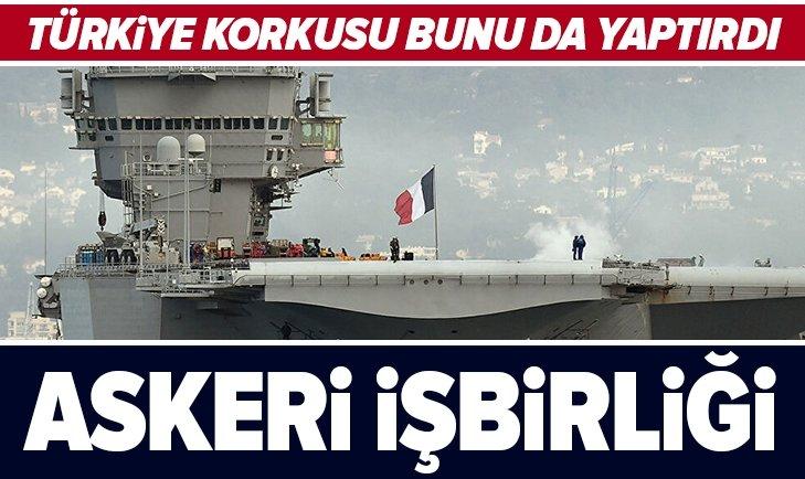 Fransızları Akdeniz'de Türk korkusu sardı! Rumlarla askeri işbirliği yapacaklar