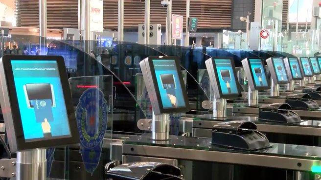 İstanbul Havalimanı'nda yeni sistem hizmete girdi