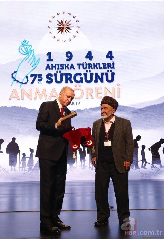 Ahıska Türkü Nadim Aliyev, Başkan Erdoğan'a emanet ettiği Kur'an-ı Kerim'in hikayesini anlattı