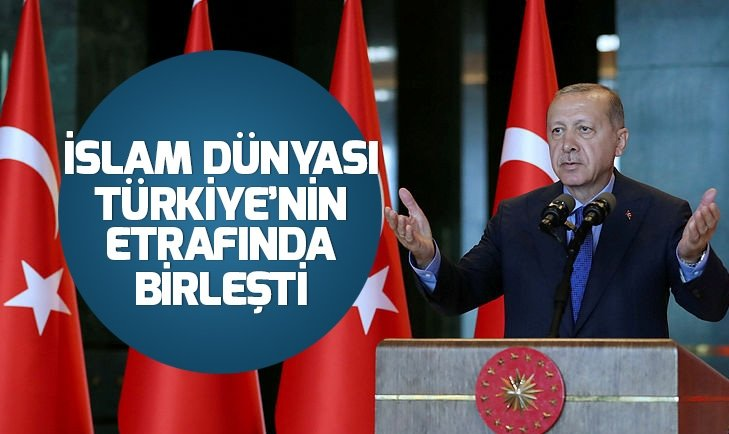 Müslümanların Türkiye'ye desteği artıyor!