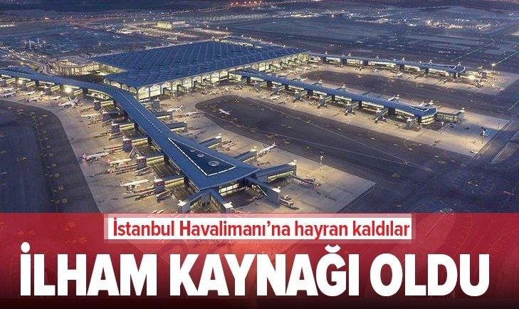 İSTANBUL HAVALİMANI POLONYA'NIN MERKEZ HAVALİMANI'NA İLHAM OLUYOR